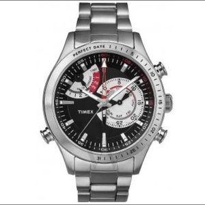 TIMEX Intelligent Quartz Chrono Black Dial Watch